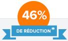 46% de réduction