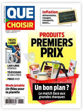Magazine mensuel Que Choisir